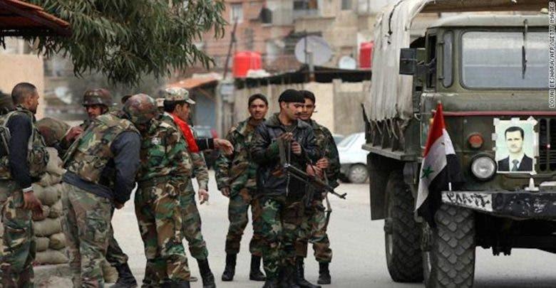 من قوات النظام في سوريا