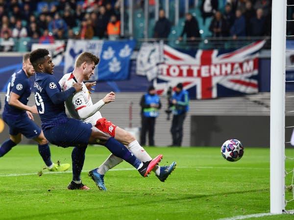 لايبزيغ يقصي توتنهام ومورينيو من دوري أبطال أوروبا