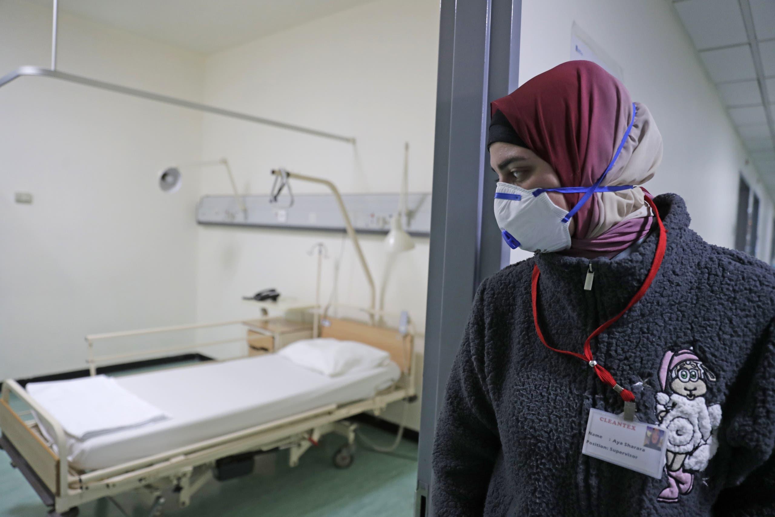 من أحد المستشفيات في بيروت (تعبيرية)