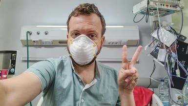 """أميركي شُفي من كورونا.. """"شكراً لأطباء مصر"""""""
