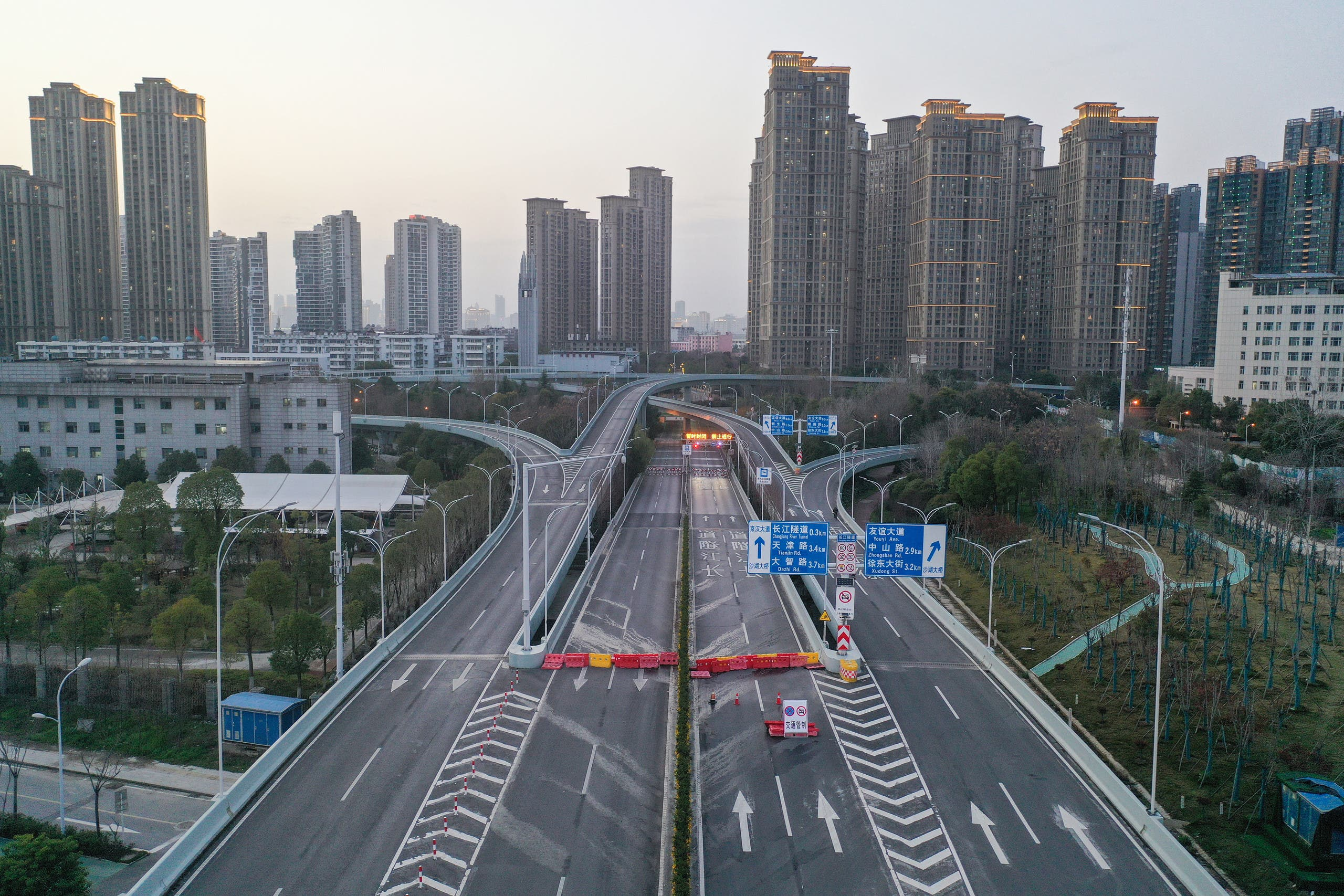 من ووهان الصينية (أرشيفية- فرانس برس)2