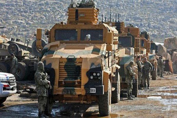 رتل عسكري تركي في إدلب