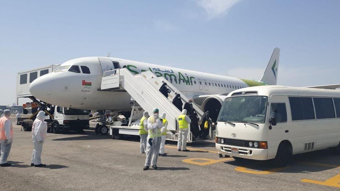 Bahrain health ministry evacuated 165 citizens from Iran amid the coronavirus outbreak. (Twitter)