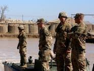 انزلاق طائرة شحن أميركية في قاعدة التاجي ببغداد
