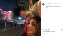 بعد انفصالهما.. صورة تجمع أنغام بزوجها ورسالة اعتذار