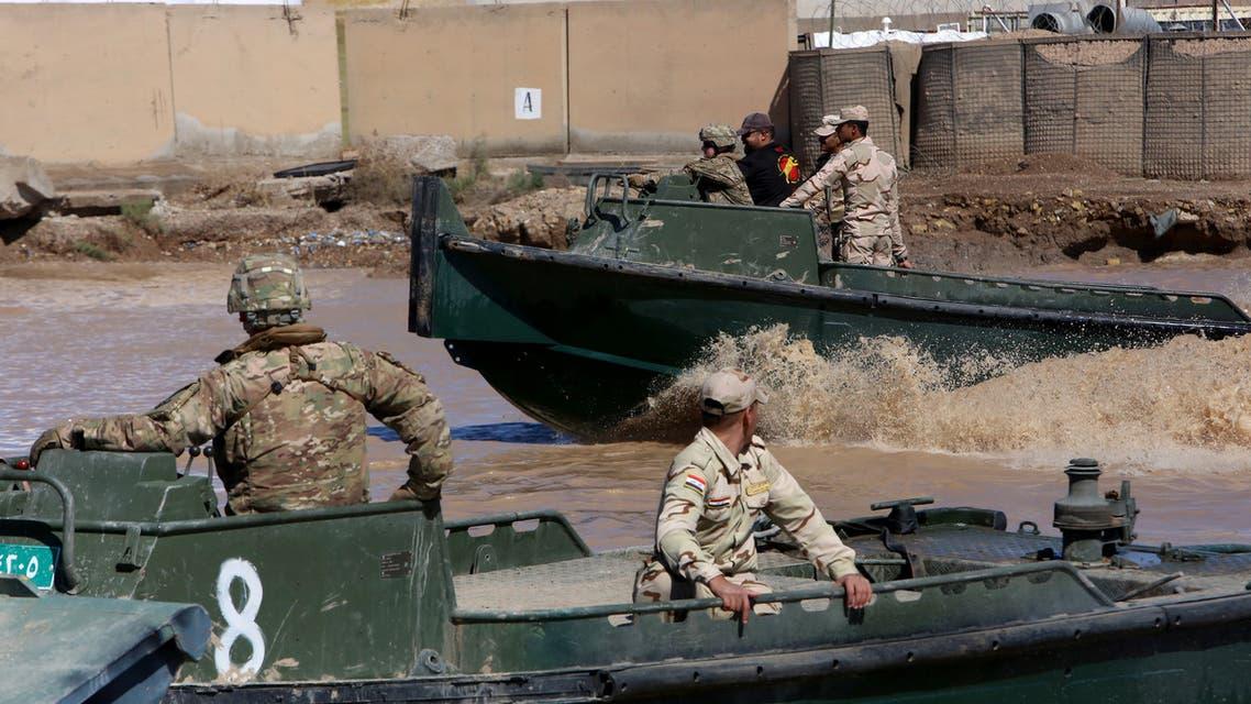 من قاعدة التاجي شمال بغداد (أرشيفية- فرانس برس)2