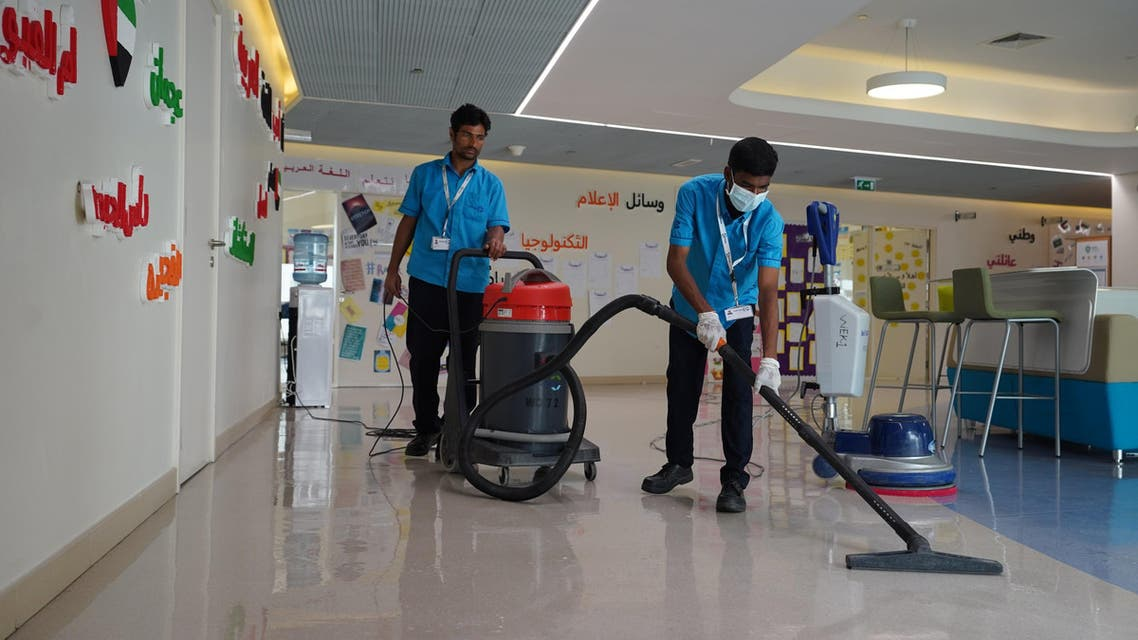 UAE's Dubai Municipality oversees implementation of sterilisation programme in private schools. (Twitter/@DXBMediaOffice)