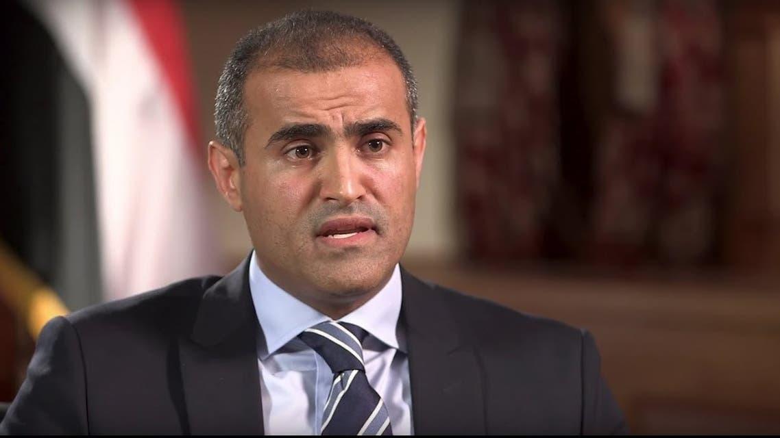 وزير الخارجية اليمني محمد الحضرمي
