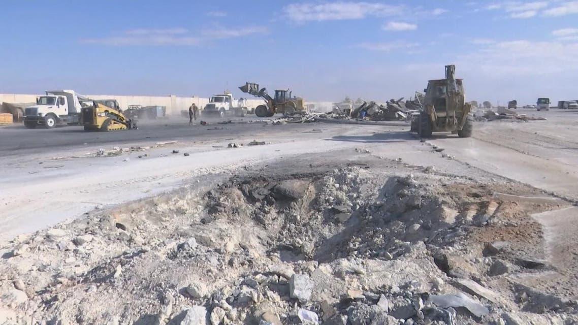 THUMBNAIL_ هجوم صاروخي على قاعدة التاجي يستهدف القوات الأجنبية