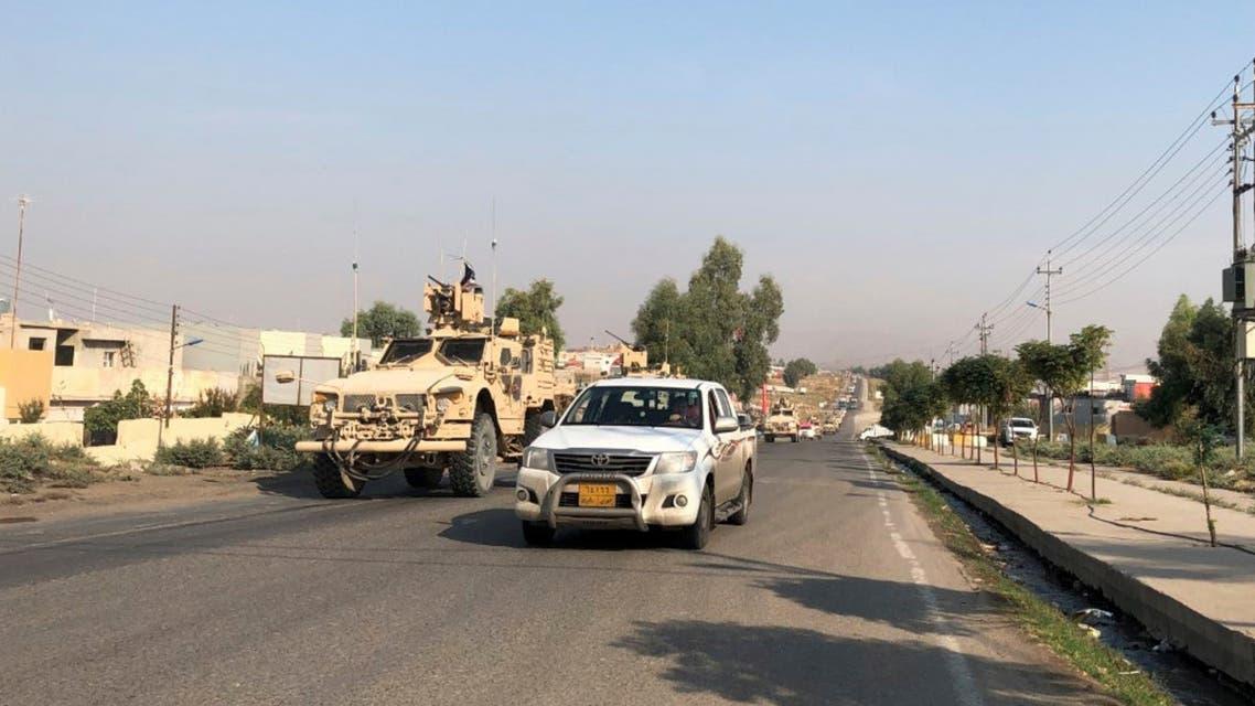 من الحدود السورية العراقية (أرشيفية - رويترز)