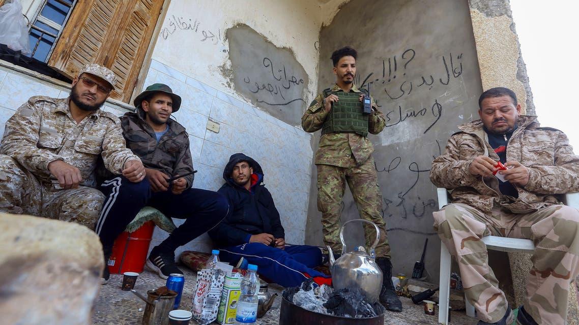 عناصر من فصائل الوفاق في طرابلس (أرشيفية- فرانس برس)4