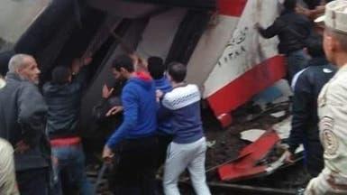تصادم بين قطارين في القاهرة.. وإصابة 13 راكباً