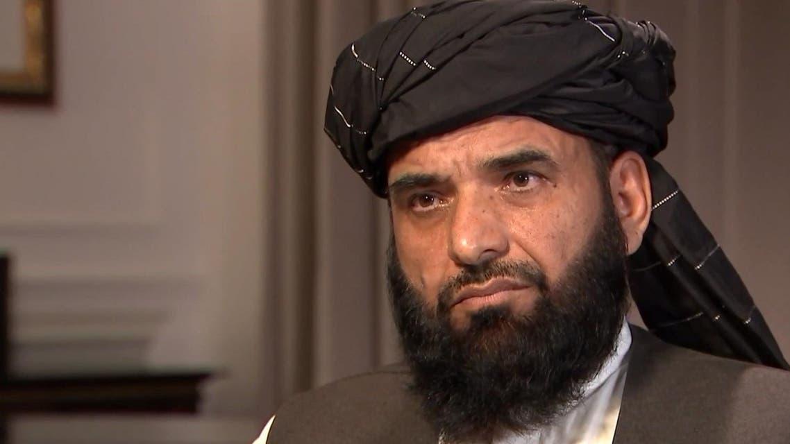 سهیل شاهین سخنگوی طالبان