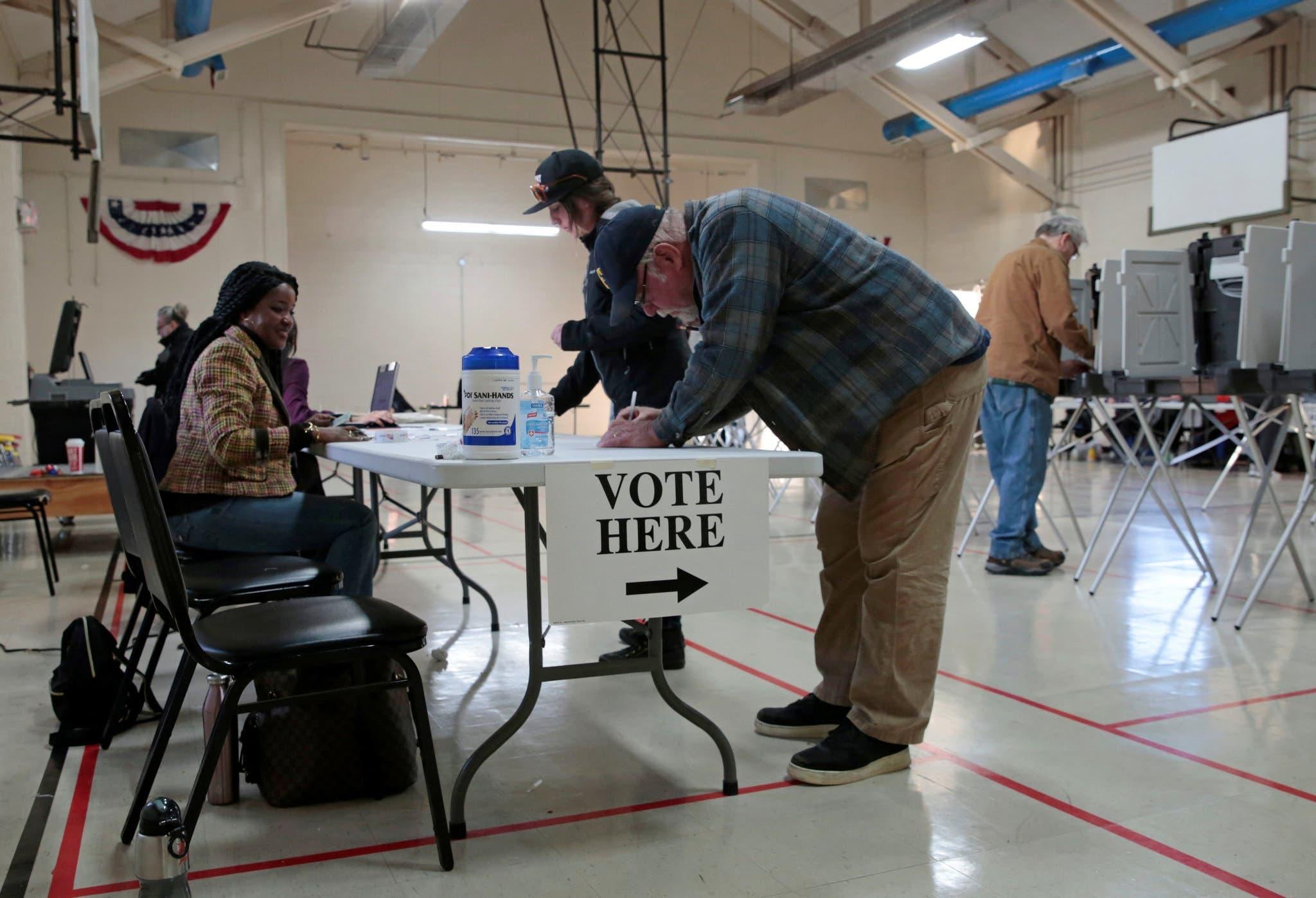من عملية التصويت