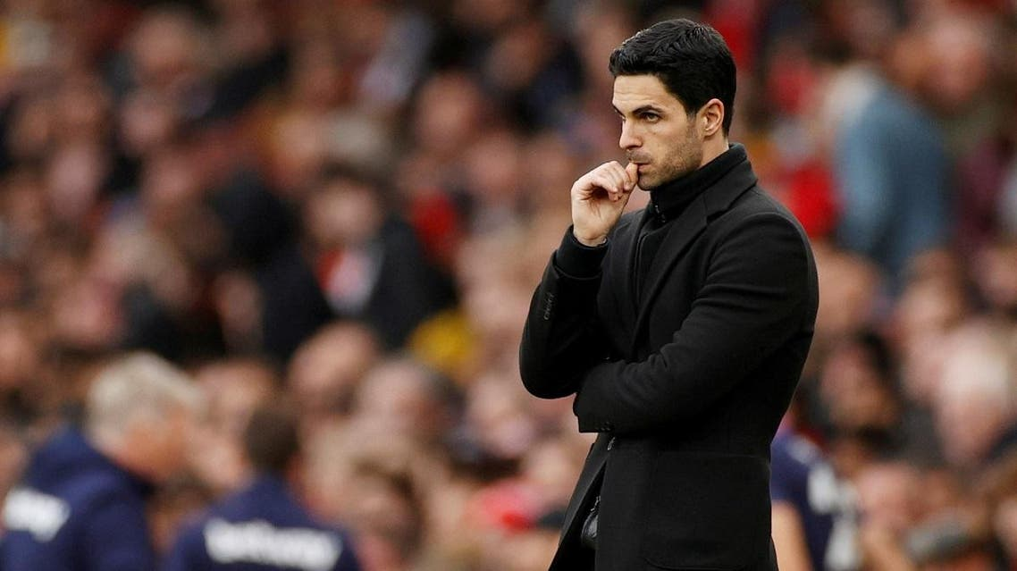 Arsenal manager Mikel Arteta. (Reuters)
