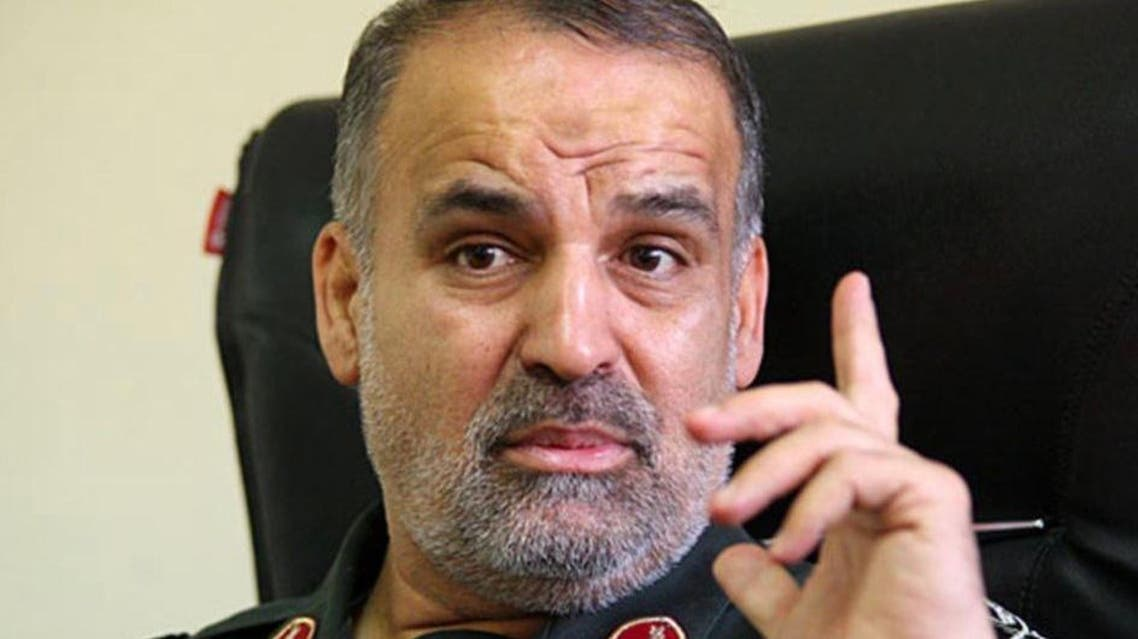 Nasser Shabani, a senior commander of Iran's Islamic Revolutionary Guard Corps. (Supplied)
