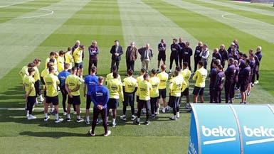 برشلونة يوقف تدريبات الفريق الأول بسبب كورونا