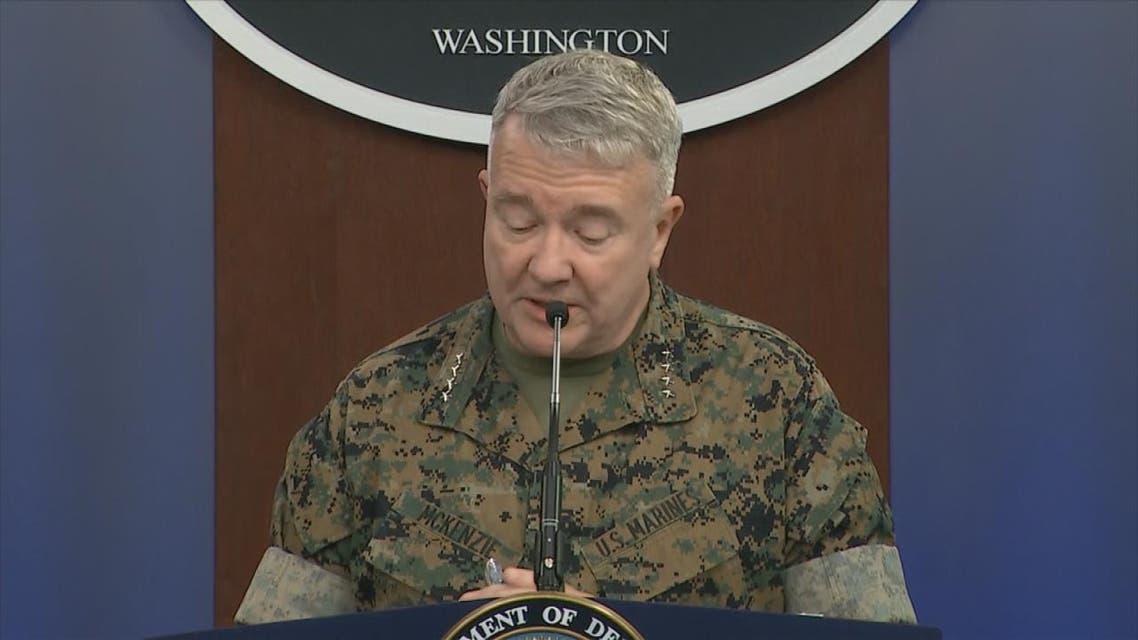 THUMBNAIL_ قائد القيادة المركزية الأميركية الجنرال كينيث ماكينزي : نجحنا في استهداف 5 مواقع لكتائب حزب الله