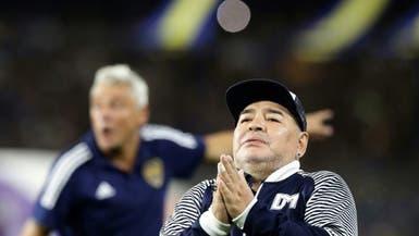 مارادونا يوجه رسالة إلى إيطاليا ويهاجم الأرجنتينيين