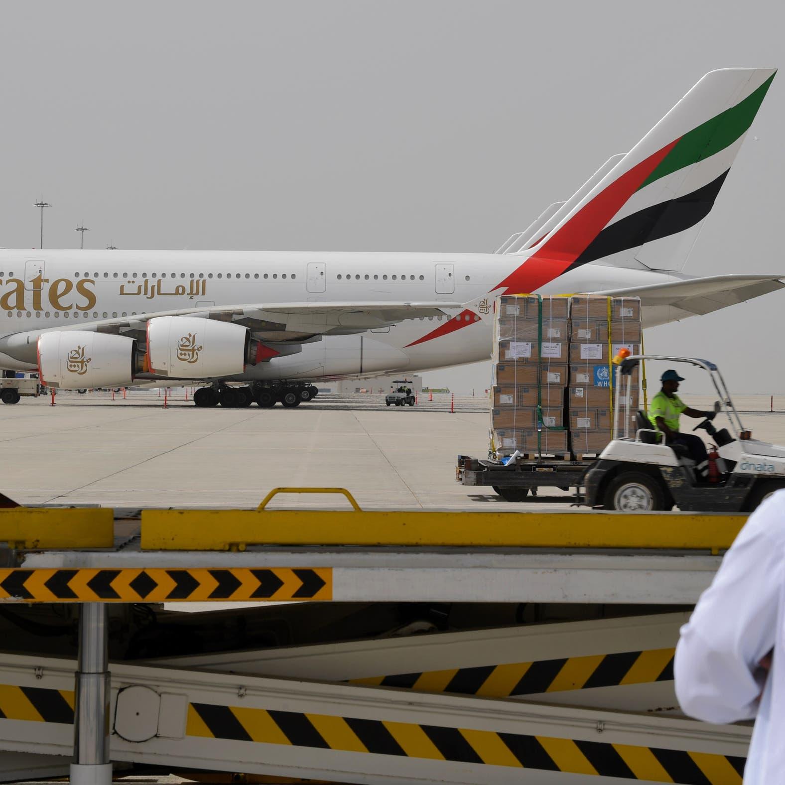الإمارات: تعليق الطيران  لـ4 بلدان ووقف التأشيرات بسبب كورونا