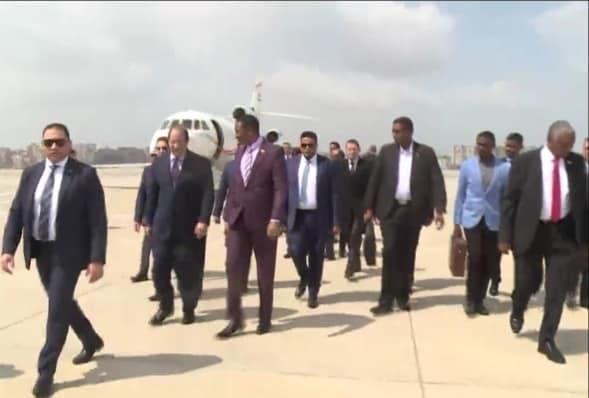 وصول نائب البرهان إلى القاهرة