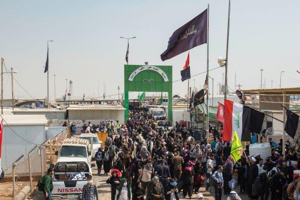 الحدود العراقية الإيرانية