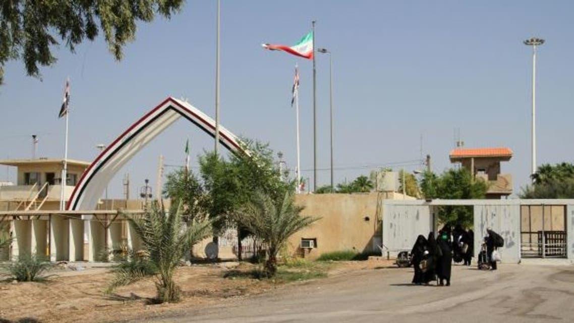 الحدود العراقية الإيرانية2 فرانس برس