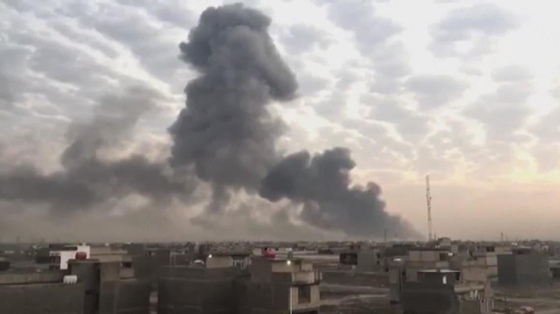 سجال أميركي عراقي بعد هجوم قاعدة التاجي