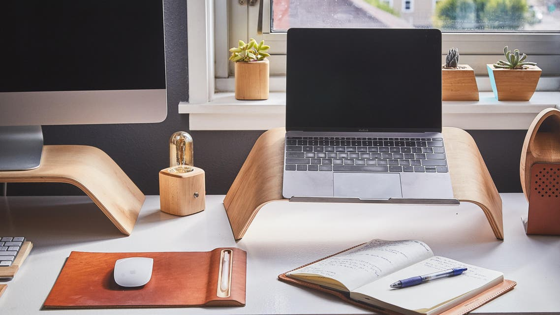 A home office. (File photo: Grovemade/Unsplash)
