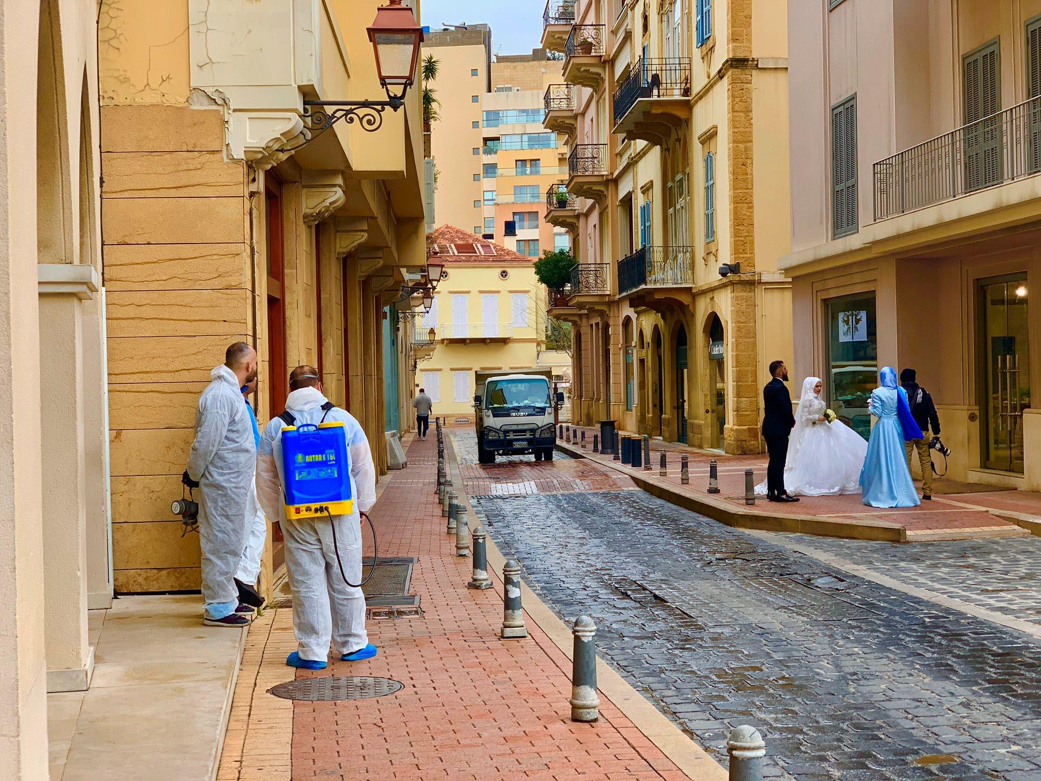 من وسط بيروت (رويترز)