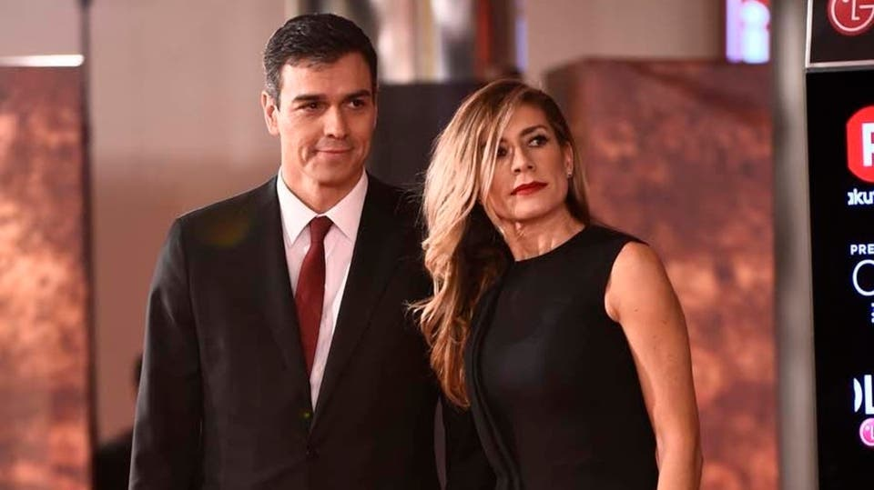 Spain prime minister and his wiife
