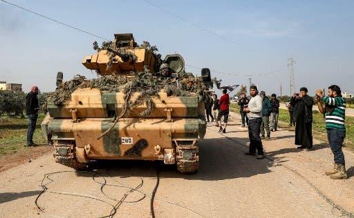 دوريات في إدلب (فرانس برس)