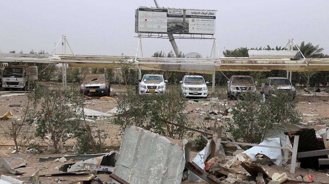A picture taken on March 13, 2020 shows of the areas targeted by US military air strikes against a pro-Iranian group in Iraq following the deaths of two Americans and a Briton in a rocket attack on a US base in Taji. (File photo: AFP)