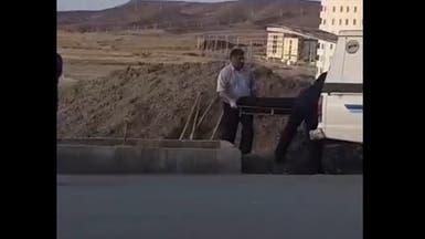 مزيد من  الجثث.. فيديو لدفن ضحايا كورونا في إيران