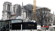 Coronavirus outbreak halts work on fire-ravaged Notre-Dame in Paris