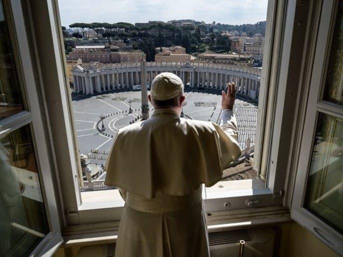 الفاتيكان بلا زواره.. صورة تلخص المشهد