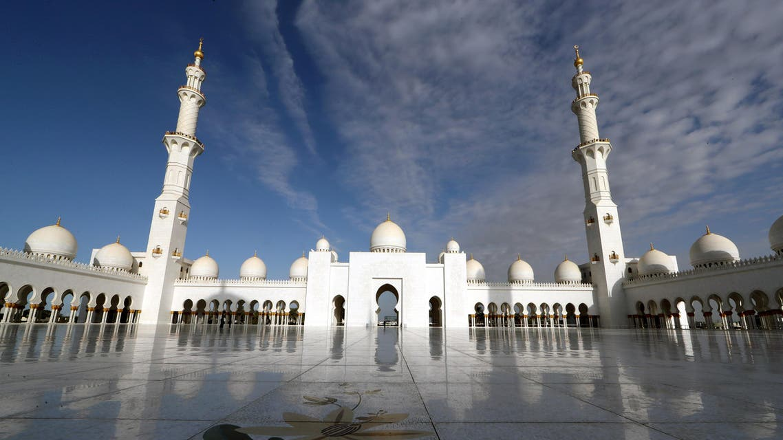 Sheikh Zayed Grand Mosque in Abu Dhabi, United Arab Emirates, February 4, 2019. (File photo: Reuters)