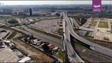 Drone video shows empty motorway after Italy goes into coronavirus shutdown