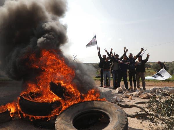 عشرات القتلى باشتباكات النظام والفصائل في إدلب