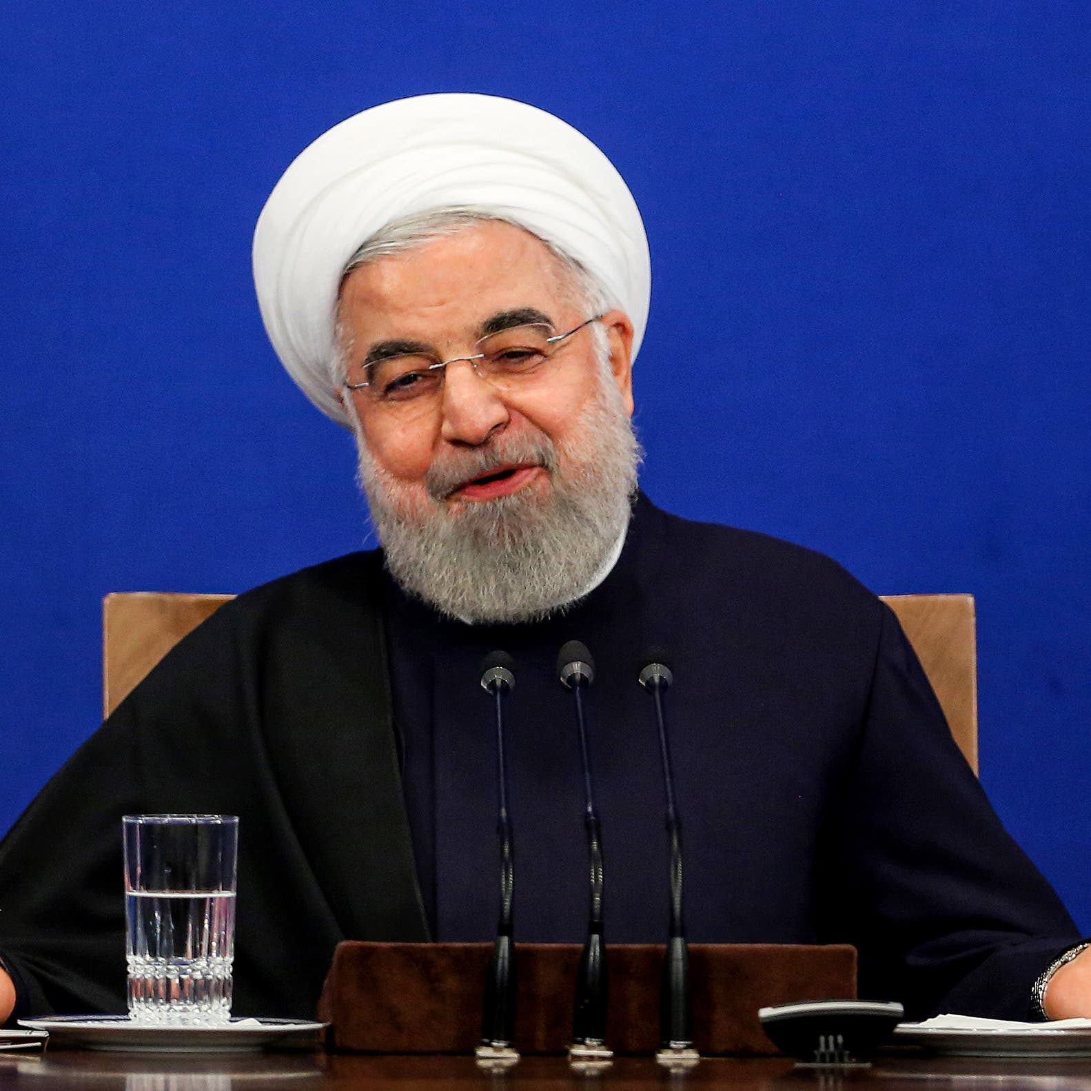 روحاني متفائل.. ومسؤول في الداخلية