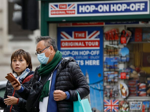 كورونا يحصد أكثر من ألف شخص في بريطانيا