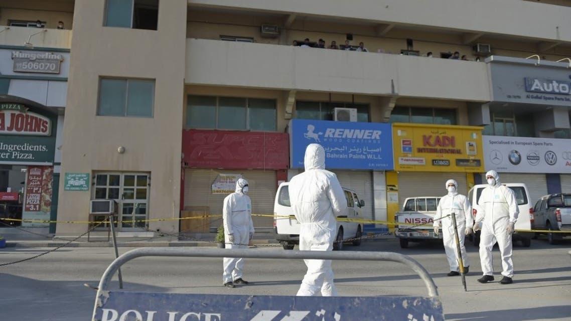 البحرين كورونا - فرانس برس