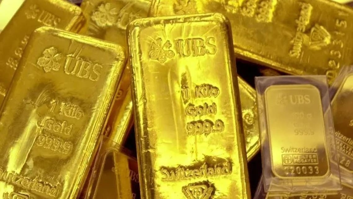 Gold bullion is displayed at Shinhan Bank. (File photo: AFP)