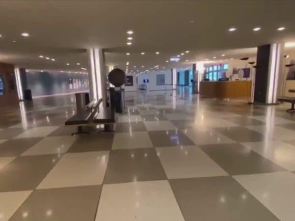 """كاميرا """"العربية"""" بداخله.. كورونا يشل مبنى الأمم المتحدة"""