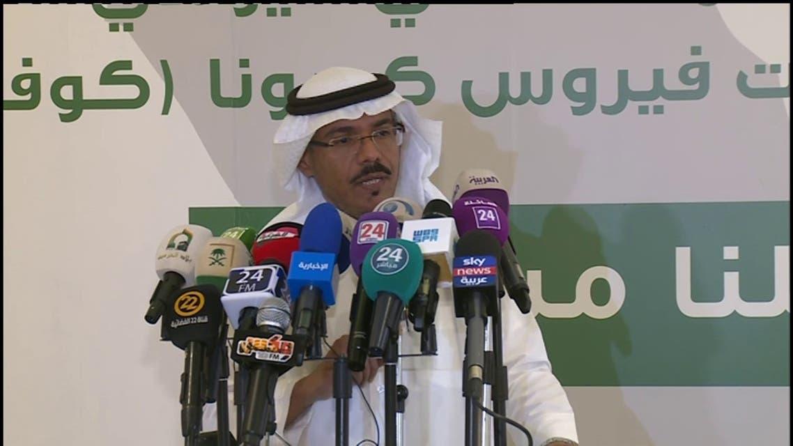 دز محمد العبد العالي المتحدث باسم الصحة السعودية