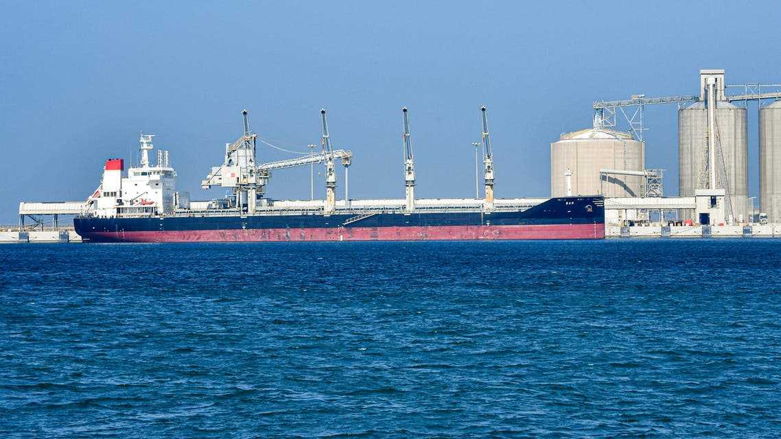 An oil tanker off the coast of Saudi Arabia. (File photo: AFP)