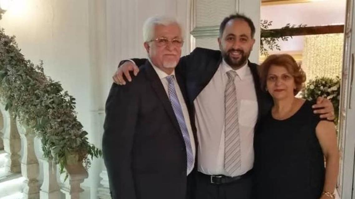 Ramiel Bet-Tamraz with his parents in Iran. (Supplied by Dabrina Tamraz)