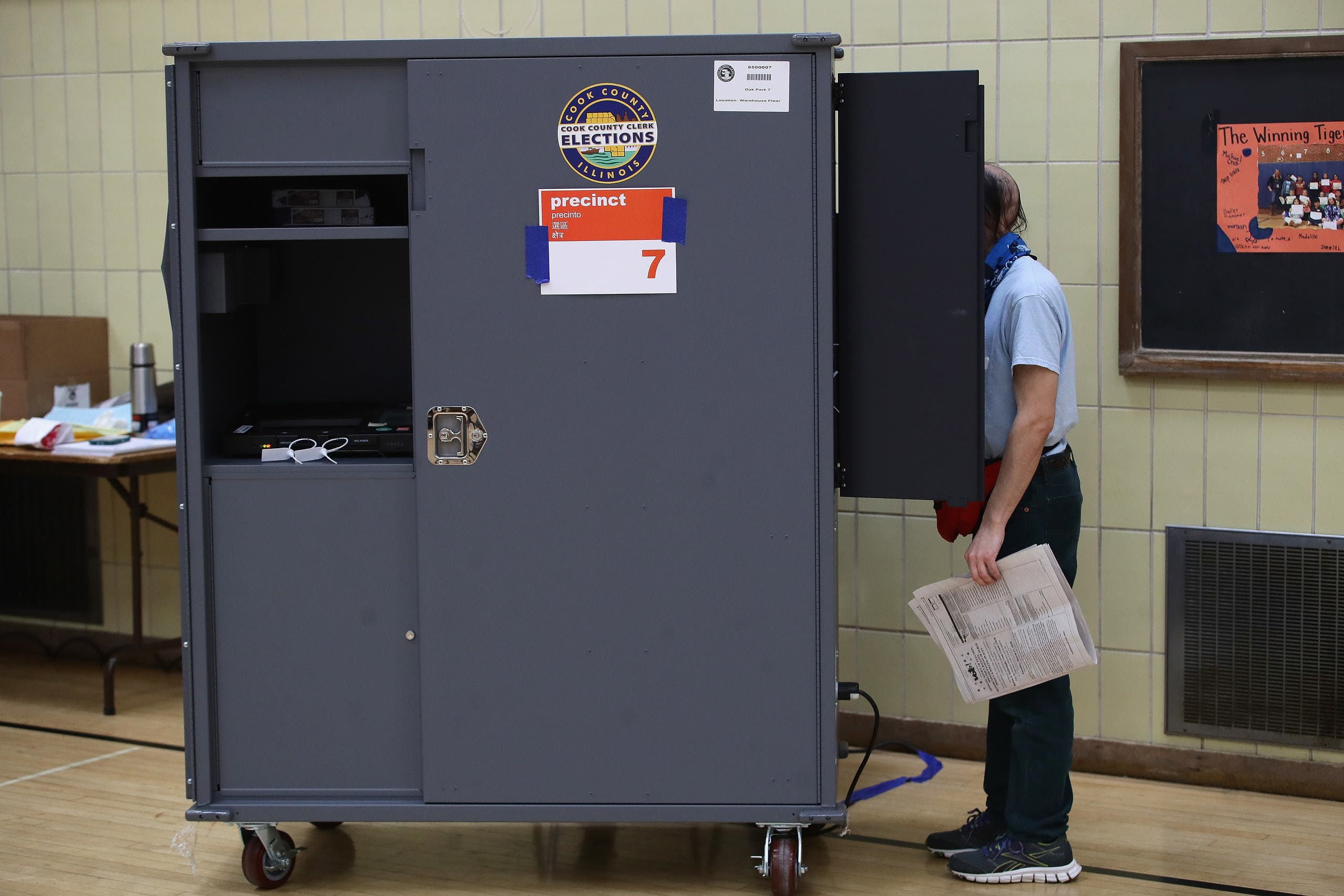 انتخابات إلينوا التمهيدية (فرانس برس)