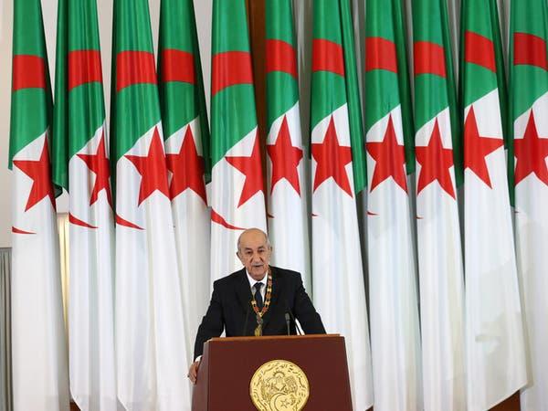 الرئيس الجزائري يعلن إجراء انتخابات تشريعية مبكرة