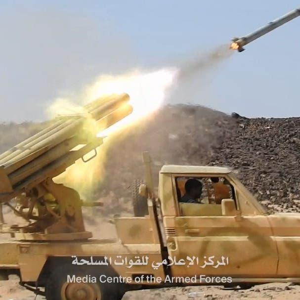 شاهد.. هجوم مباغت للجيش اليمني على الحوثي بصرواح وقانية